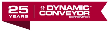 Dynamic Conveyor 25 Year Logo