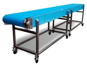 DynaClean Horizontal or Flat Food Grade Conveyor.