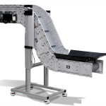 Adjustable leg support options for ergonomic conveyor