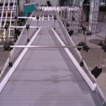 DynaCon adjustable conveyor side rails.