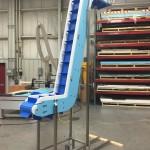 Plastic Link style conveyor belting for granola bites