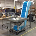 DynaClean conveyor at Bay Cities Produce.