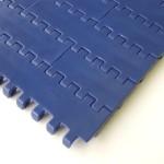 Link style plastic conveyor belt