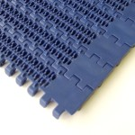 Mesh nub top plastic conveyor belting