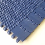 Nub top plastic conveyor belting