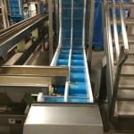 DynaClean vertical z food conveyor.