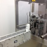 DynaCon conveyor system being used for water packaging.
