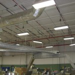 Dynacon belt conveyors, supsended from ceiling.
