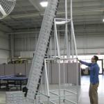 Dynacon Tall Vertical Z conveyor