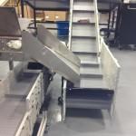Dynacon Portable Z Style Incline Conveyor