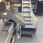 Two Dynacon portable conveyors.