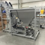 Z Conveyor with Vibratory Bin Hopper