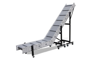 Dynacon incline conveyor for parts conveying.