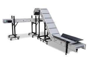 DynaCon Flat and Angle or Incline Conveyors.