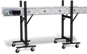DynaCon flat belt conveyor.