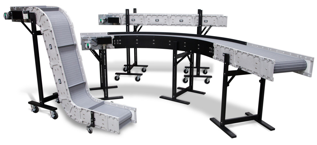 DynaCon reconfigurable parts conveyors.