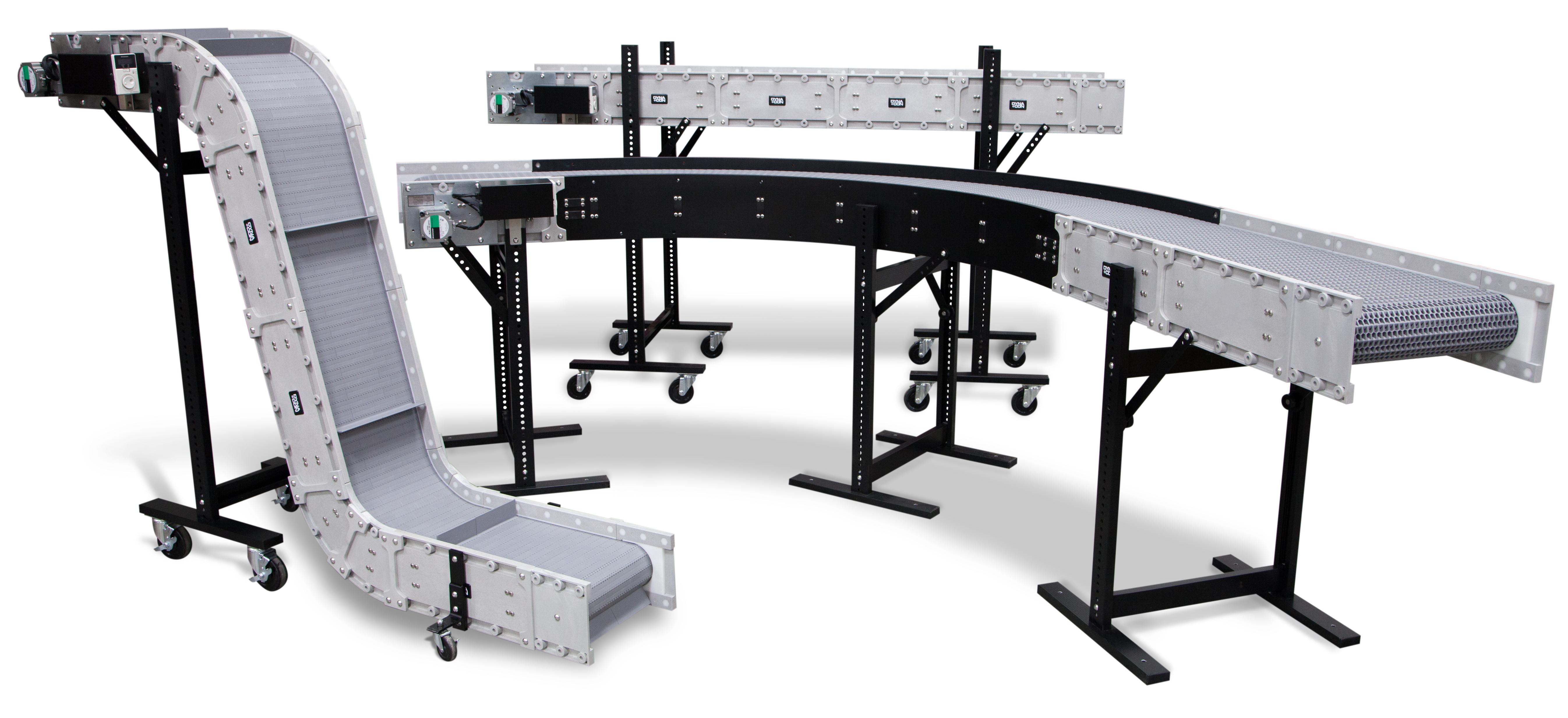 Benefits | DynaCon Modular Belt Conveyors | Clean Room