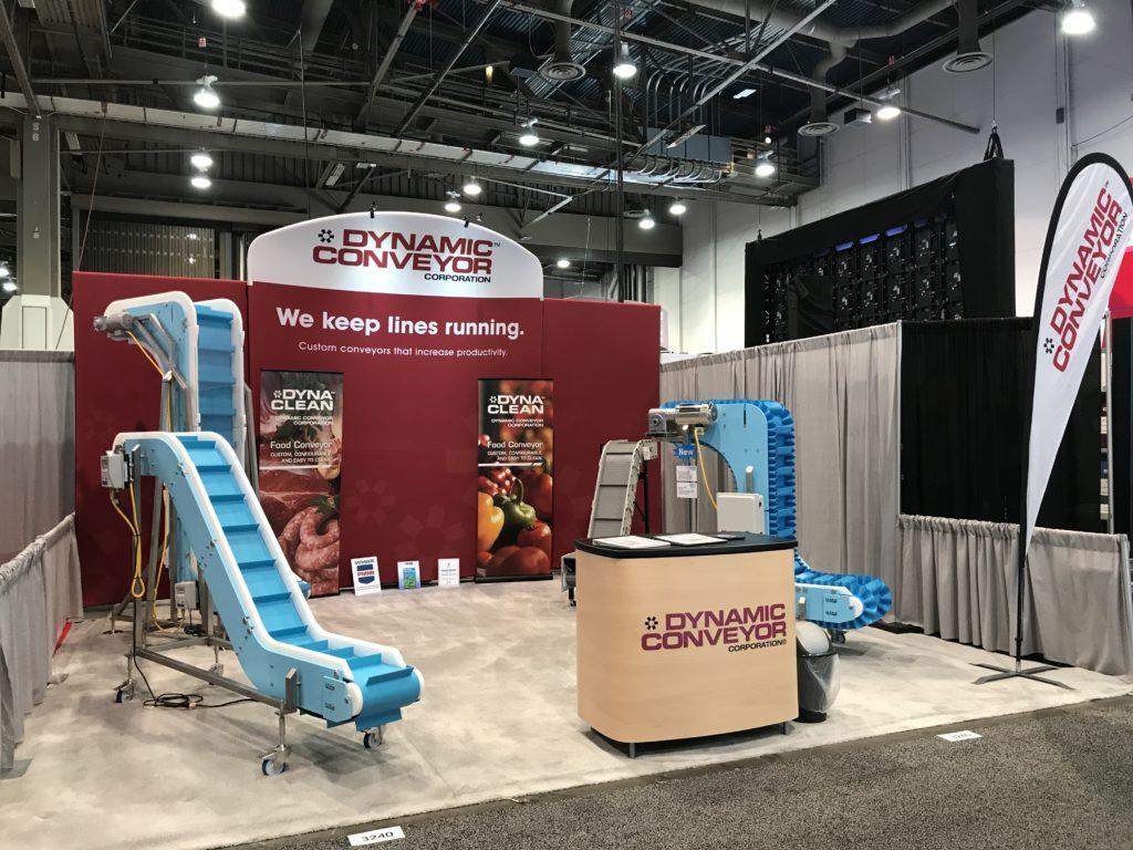 PackExpo Las Vegas 2017: Dynamic Conveyor's Booth