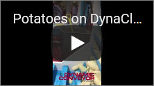 Potatoes on a DynaClean Food Processing Conveyor Video Thumbnail
