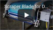 Scraper Blade for DynaClean Food Conveyor Video Thumbnail