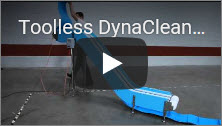 Toolless DynaClean Food Processing Conveyor Video Thumbnail