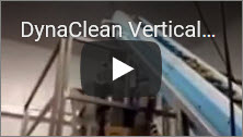 DynaClean Vertical Z Conveyor In Use for Pet Food Processing Video Thumbnail