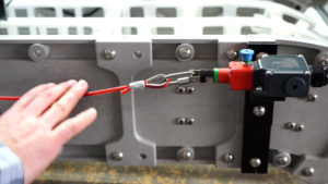 Cable E-Stop on a DynaCon Conveyor