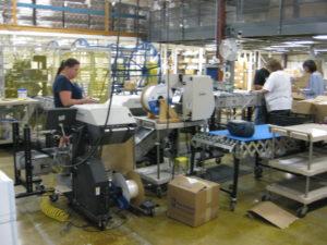 DynaCon conveyors at MasterTag