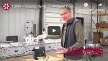 Video Showing the Cable E-Stop on a Dynacon Modular Conveyor