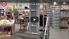 Video Showing the DynaCon 90 Degree Vertical Incline Parts Conveyor