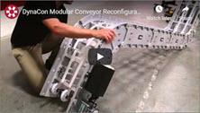 DynaCon Modular Conveyor Reconfiguration Video