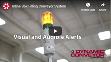 Inline Box Filling Conveyor System Video