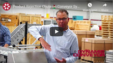 Product Rejection Chute DynaCon Conveyor System Video