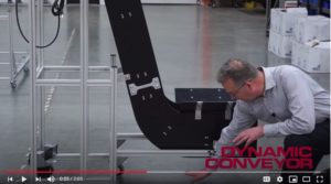 Hybrid Z Conveyor for tight spaces