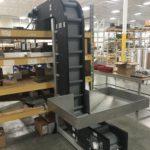 Hybrid Conveyor with Hopper