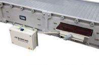 Metal detection on DynaCon parts conveyor.