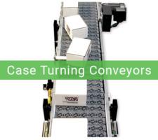 case turning conveyors